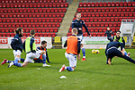 St Johnstone v Livingston…12.12.20   McDiarmid Park      SPFL<br />Jamie McCart pictured during the warm-up<br />Picture by Graeme Hart.<br />Copyright Perthshire Picture Agency<br />Tel: 01738 623350  Mobile: 07990 594431
