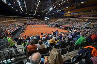 Februari 08, 2015, Apeldoorn, Omnisport, Fed Cup, Netherlands-Slovakia, Onisport overall vieuw<br /> Photo: Tennisimages/Henk Koster
