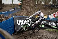 CX world champion Mathieu Van der Poel (NED/Alpecin-Fenix)<br /> <br /> 2021 Flandriencross Hamme (BEL)<br /> <br /> ©kramon