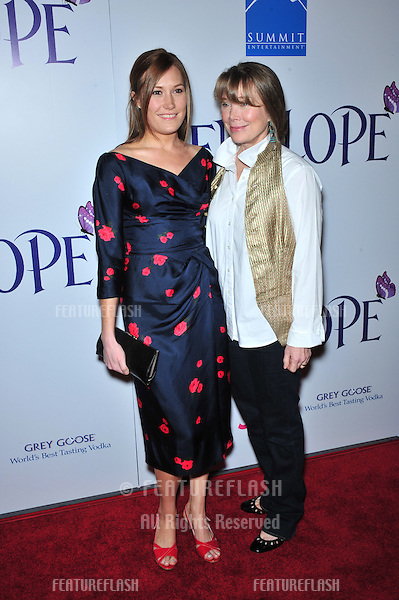 """Sissy Spacek (right) & daughter Schuyler Fisk at the Los Angeles premiere of """"Penelope"""" at the Directors Guild Theatre, West Hollywood..February 20, 2008  Los Angeles, CA.Picture: Paul Smith / Featureflash"""