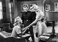 (L to R) Virginia Mayo,<br /> James Cagney, Doris Day<br /> in THE WEST POINT STORY
