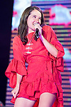 Spanish Singer Miguel Bose in collaboration with mexican singer Ximena Sariñana during the first stop of his tour 'Estaré' at Wizink Center in Madrid, June 23, 2017. Spain.<br /> (ALTERPHOTOS/BorjaB.Hojas)