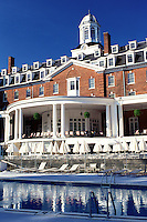 resort, pool, Cooperstown, New York, The swimming pool at The Otesaga Resort Hotel in Cooperstown, NY.