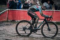 Eli Iserbyt (BEL/Marlux-Bingoal)<br /> <br /> Elite Men's Race<br /> Belgian National CX Championschips<br /> Kruibeke 2019