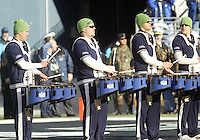 27 Nov 2005:  Seattle Seahawks Blue Thunder band members entertained the crowd before the start of the game against the New York Giants at Qwest Field in Seattle, Washington.