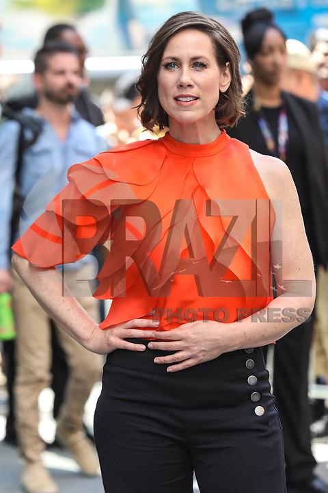 NEW YORK, EUA, 27.06.2017 - MIRIAM-SHOR - A atriz Miriam Shor é vista no Soho na Ilha de Manhattan em New York nesta terça-feira, 27. (Foto: Vanessa Carvalho/Brazil Photo Press)