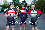 Ready for road in the Tom Crean Cycle fundraiser for Down Syndrome Kerry on Saturday morning, l to r: Colin Scott, Cathal Foley and Colin Lacey from the Tralee Chain Gang.