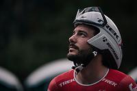 Julien Bernard (FRA/Trek-Segafredo) prerace<br /> <br /> UCI MEN'S TEAM TIME TRIAL<br /> Ötztal to Innsbruck: 62.8 km<br /> <br /> UCI 2018 Road World Championships<br /> Innsbruck - Tirol / Austria