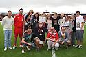 Kenya volunteers<br />  Stevenage v Oldham Athletic - Sky Bet League 1 - Lamex Stadium, Stevenage - 3rd August, 2013<br />  © Kevin Coleman 2013