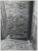 BNPS.co.uk (01202 558833)<br /> Pic: IronCrossMagazine/BNPS<br /> <br /> Pictured: The entrance to a tunnel under Castle Tittmoning used by the British POWs.<br /> <br /> The comical escape attempts made by British officers from a German prisoner of war camp called Castle Tittmoning have been revealed 80 years later.<br /> <br /> The desperate efforts to break out of the little known but rude sounding camp included three men who hid inside a cramped fireplace for eight days before being found by guards covered in soot.<br /> <br /> Other officers hid under piles of rubbish on a horse-drawn cart and allowed themselves to be driven out of the fortress before they were discovered.<br /> <br /> The men expertly made German uniforms out of blankets and brazenly walked out of the camp disguised as guards before being rumbled.