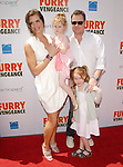 Brooke Shields,Rowan Henchy,Grier Henchy & Chris Henchy at the Summit Entertainment L.A. Premiere of Furry Vengeance held at The Bruin Theatre in Westwood, California on April 18,2010                                                                   Copyright 2010  DVS / RockinExposures
