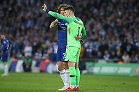 Keep Arrizabalaga of Chelsea refuses to be substituted during the Carabao Cup Final match between Chelsea and Manchester City at Stamford Bridge on February 24th 2019 in London, England. (Photo by Paul Chesterton/phcimages.com)<br /> Foto PHC Images / Insidefoto <br /> ITALY ONLY