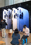 October 23, 2020, Tokyo, Japan - Customers purchase the new 5G iPhone, iPhone 12 and iPhone 12 Pro at an Apple store in Tokyo on Friday, October 23, 2020. iPhone 12 and iPhone 12 Pro started to sell here while iPhone 12 Pro Max and iPhone 12 mini will go on sale next month.        (Photo by Yoshio Tsunoda/AFLO)