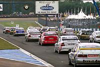 1997 British Touring Car Championship Race start.