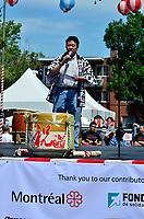 Fetes Gourmandes 2011, au Musee Pointe-a-Calliere.<br /> <br /> Montreal (Qc) CANADA - August 13, 2011 -Monsieur Alan Itakura,  Président du Centre Culturel Canadien Japonais de Montréal  a mentionné<br /> que ''le Centre Culturel Canadien Japonais de Montréal  est fier d'être un commanditaire du Matsuri Japon pour la dixième année consécutive''<br /> en plus de féliciter la Présidente du Matsuri-Japon Jennifer Sakai et son équipe