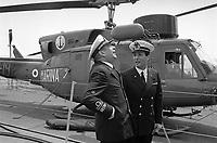 - Italian Navy, Vittorio Veneto cruiser, officers on the flight deck (May 1984)<br /> <br /> - Marina Militare Italiana, incrociatore Vittorio Veneto, ufficiali sul ponte di volo (Maggio 1984)