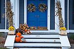 An elegant house on High Street, Newburyport, MA, USA