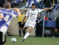 23 April 2005: Wizards' Chris Klein in action against Wizards at Spartan Stadium in San Jose, California.   Earthquakes defeated Wizards, 3-2.  Credit: Michael Pimentel / ISI