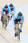 The team of Canada with Hugo Barrette, Stefan Ritter and Patrice St Louis Pivin compete in Men's Team Sprint - Qualifying match as part of the 2017 UCI Track Cycling World Championships on 12 April 2017, in Hong Kong Velodrome, Hong Kong, China. Photo by Victor Fraile / Power Sport Images