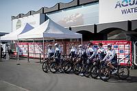 Team Israel Start-Up Nation presentation in pandemic infested times<br /> <br /> 73rd Kuurne - Brussels - Kuurne 2021<br /> ME (1.Pro)<br /> 1 day race from Kuurne to Kuurne (BEL/197km)<br /> <br /> ©kramon