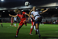 Rodney Parade - Newport - South Wales -<br /> <br />  during the FIFA Women's World Cup qualifier between Wales and England at Rodney Parade, Newport on Friday August 31st 2018<br /> <br /> <br /> Jeff Thomas Photography -  www.jaypics.photoshelter.com - <br /> e-mail swansea1001@hotmail.co.uk -<br /> Mob: 07837 386244 -