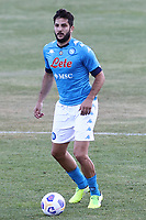 Kostantinos Manolas of SSC Napoli<br /> during the friendly football match between SSC Napoli and SS Teramo Calcio 1913 at stadio Patini in Castel di Sangro, Italy, September 04, 2020. <br /> Photo Cesare Purini / Insidefoto