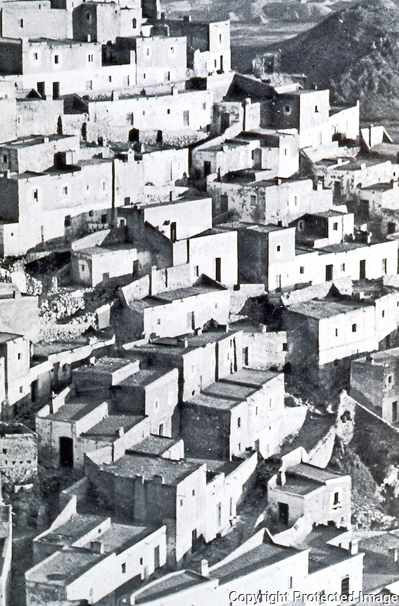 "Bernard Rudofsky:  ""Model Hill Town""--Mojacar, Almeria, Spain.  Photo '77."