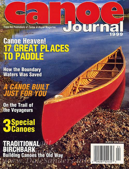 Canoe Journal Cover 1999