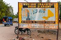 MALI, Kayes, western union, global money transfer service / Geld Transfer Dienst mit Western Union