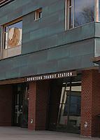 Transit center in Charlottesville, Va.