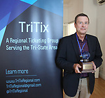 Vince Rieger (TriTix Impact Award Winner) during the 2019 TRITIX Forum at Arts West Building on September 19, 2019 in New York City.