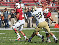 Stanford, CA; Saturday August 30, 2014: Football, Stanford vs UC Davis