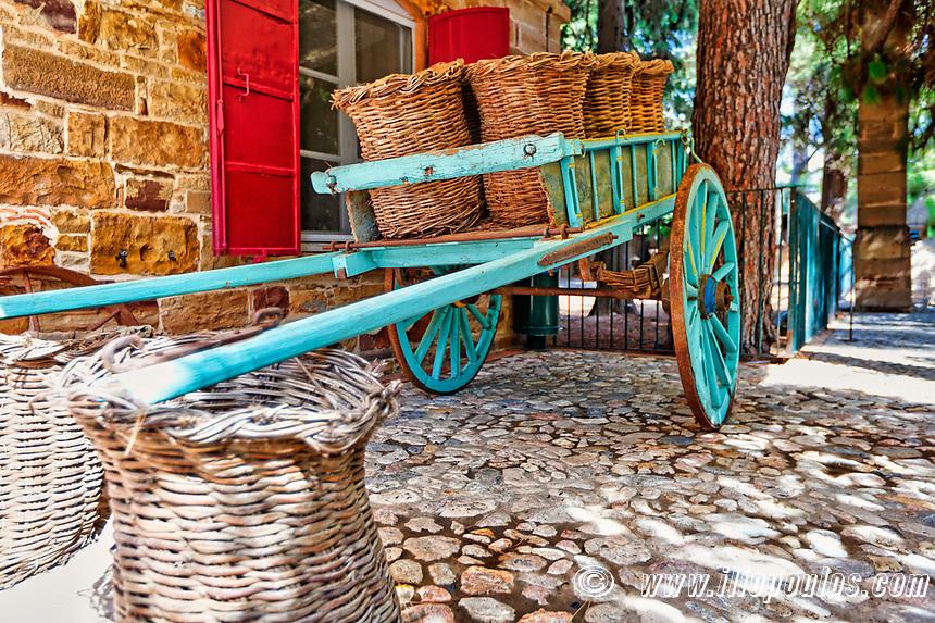 Τhe mansion Citrus of Kampos in Chios island, Greece
