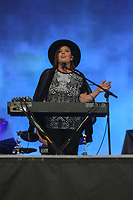 Ariane Moffatt performs at the Festival d'ete de Quebec (Quebec City Summer Festival) Tuesday July 14, 2015.