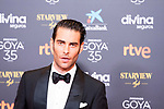 Jon Kortajarena attends the red carpet previous to Goya Awards 2021 Gala in Malaga . March 06, 2021. (Alterphotos/Francis González)