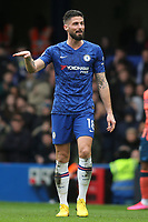 Olivier Giroud of Chelsea during Chelsea vs Everton, Premier League Football at Stamford Bridge on 8th March 2020