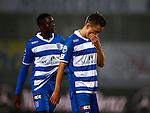 Nederland, Zwolle, 18 oktober 2015<br /> Eredivisie<br /> Seizoen 2015-2016<br /> PEC Zwolle-Vitesse<br /> Queensy Menig (l.) en Ryan Thomas van PEC Zwolle balen van de verloren wedstrijd