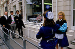 ETON PUBLIC SCHOOL, FRENCH KITCHEN STAFF TAKE PHOTOS OF 6TH FORMERS