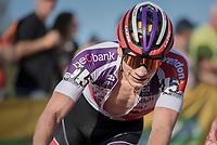 David van der Poel (NED/Beobank-Corendon)<br /> <br /> Elite Men's Race<br /> CX Super Prestige Zonhoven 2017