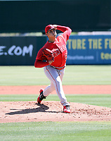 Jerryell Rivera - Los Angeles Angels 2019 extended spring training (Bill Mitchell)
