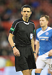 Aberdeen v St Johnstone…10.12.16     Pittodrie    SPFL<br />Referee Kevin Clancy<br />Picture by Graeme Hart.<br />Copyright Perthshire Picture Agency<br />Tel: 01738 623350  Mobile: 07990 594431