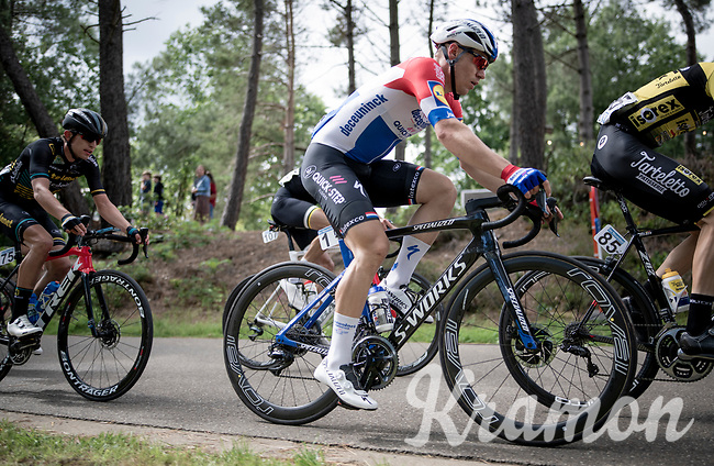 Dutch Champion Fabio Jakobsen (NED/Deceuninck - QuickStep)<br /> <br /> the inaugural GP Vermarc 2020 is the very first pro cycling race in Belgium after the covid19 lockdown of Spring 2020 & which was only set up some weeks in advance to accommodate belgian teams by providing racing opportunities asap after the lockdown allowed for racing to restart (but still under strict quarantine / social distancing measures for the public, riders & press)<br /> <br /> Rotselaar (BEL), 5 july 2020<br /> ©kramon