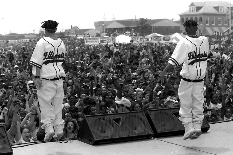 Kriss Kross.MTV Sports and Music Festival Belmar, NJ.June 1992
