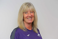 Pictured: Sue Eames Wednesday 14 September 2016<br />Re: Swansea City FC training at Fairwood, Wales, UK