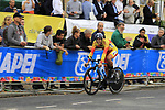 Luis Guillermo Mas Bonet of Spain in action during the Men Elite Individual Time Trial of the UCI World Championships 2019 running 54km from Northallerton to Harrogate, England. 25th September 2019.<br /> Picture: Andy Brady | Cyclefile<br /> <br /> All photos usage must carry mandatory copyright credit (© Cyclefile | Andy Brady)