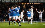 Jason Holt celebrates his goal for Rangers