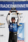 Verizon IndyCar Series<br /> Chevrolet Detroit Grand Prix Race 2<br /> Raceway at Belle Isle Park, Detroit, MI USA<br /> Sunday 4 June 2017<br /> Graham Rahal, Rahal Letterman Lanigan Racing Honda<br /> World Copyright: Michael L. Levitt<br /> LAT Images