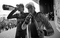 E3 Prijs Harelbeke.podiumboys Sagan & Oss