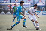 Bayer Leverkusen (in blue) vs Kashima Antlers (in white) during their Main Tournament Plate Semi-Final match, part of the HKFC Citi Soccer Sevens 2017 on 28 May 2017 at the Hong Kong Football Club, Hong Kong, China. Photo by Chris Wong / Power Sport Images