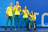 Womens 4x100 Medley Relay  / Swimming Finals<br />Tokyo Aquatic Centre <br />2020 Tokyo Paralympic Games<br />Paralympics Australia / Day 9<br />Tokyo Japan :   September 2 2021<br />© Sportshoot / Delly Carr / PA